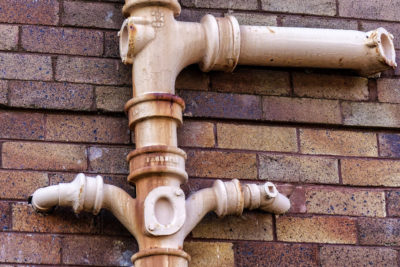 commercial sewage lines installation